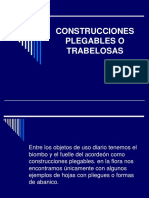 CONSTRUCCIONES PLEGABLES O TRABELOSAS.ppt