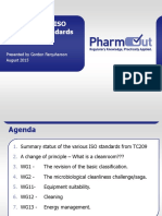 2015 GMP Validation Forum D2.T2.4.3 GJF T1 Xx ISO Cleanroom Standards Update 2015-06-29