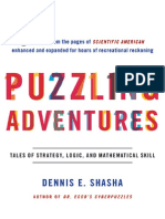 Puzzling Adventures Tales of Strategy, Logic, And Mathematical Skill