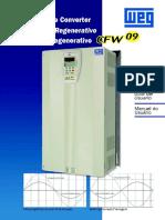 Weg Cfw 09rb Regenerative Converter User Guide En