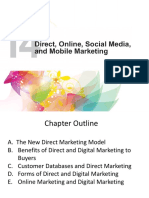 Chapter 14 - Direct _ Online Marketing-Building Direct Customer Relationships