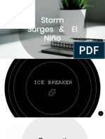 Storm Surges and El Niño