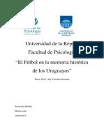 Tfg El Futbol en La Memoria Historica de Los Uruguayos 0