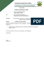 INFORME Nº 062-Pdt Maquinaria