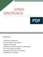 Geradores Síncronos