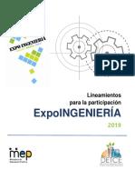 Lineamientos Expoingenieria 2019 0