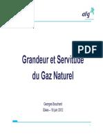 Grandeur Et Servitude Du Gaz Naturel