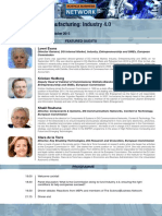 The Future of Manufacturing-Industry 4.0 - 20 Oct 2015 - Event Pack