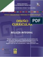 Diseño Curricular Belleza Integral Docx