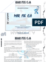 Reglamento Interno Mar Fix CA