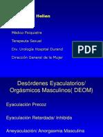disfunciones eyaculatorias