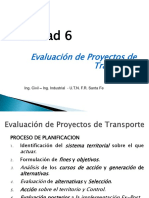 Evaluacion Proyectos Transporte