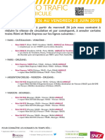 Info Trafic Canicule trains Centre Val de Loire