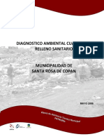 Diagnostico Ambiental RELLENO SANITARIO