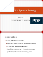 Information Systems Strategy 1