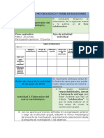 Paso 4. Marco Metodológico y Posibles Soluciones (1)