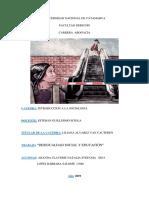 MONOGRAFIA desigualdades sociales y educativas