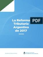 Ministerio de Hacienda - La Reforma Tributaria Argentina de 2017 Web2