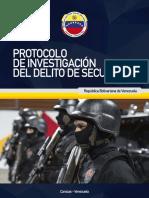 Protocolo de Investigación Del Delito de Secuestro(1)