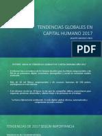Tendencias Globales de Capital Humano 2017