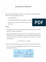 ET6018 Lecture 4 Measurement of Fluid Flow