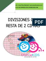 Divisiones Con Resta de 2 Cifras