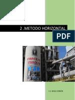 Metodo horizontal Fancesa