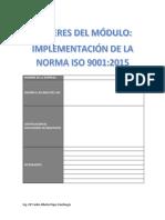 Talleres Del Sgc-Iso 9001-2015