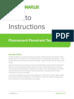 How to Do Fluorescent Penetrant Testing