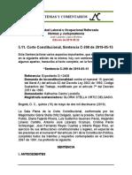 Estabilidad Laboral Reforzada 5.11. 2019-05-15 C-200