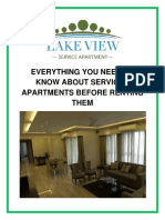 Everything You Need to Know About Serviced Apartments Before Renting Them
