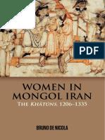 Women in Mongol Iran - The Khatuns.pdf