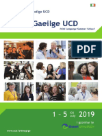English TionolgaeilgeUCD 2019