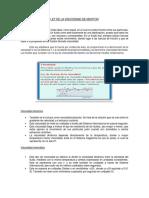 Ley de La Viscosidad de Newton (Informe)