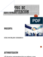 Conceptos de Automatización Gerardo Morlan