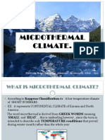 Climatology Microthermal PPT