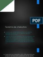 4.4 Teorema de Chevyshev