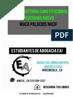 Apunte Historia Constitucional - Progama Nuevo.pdf