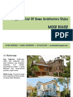 List of Home Architecture Styles