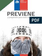 Previene Invierno - ONEMI