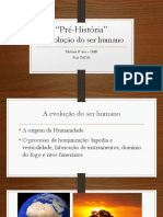 Aula pré-História 6º ano – CMB Prof PAIVA