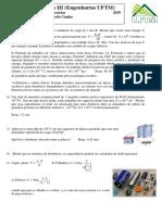 Física 3 - Lista Capacitores