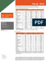Resultados e Dividendos PSI20 2019