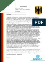 Position paper- MUN