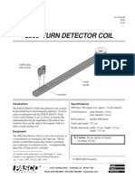 2000 Turn Detector Coil Manual EM 6713