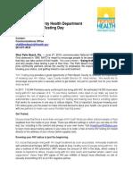 HIV Testing Locations