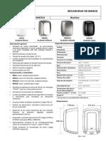 Mediclinics Secadoras de Manos M09ACS