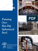 Duplex Systems. Painting over Hot-Dipped Galvanized Steel