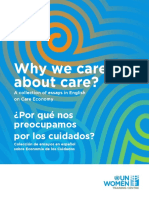 Why we care about care