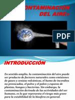CONTAMINACIÓN DEL AIRE - DIAPOSITIVAS.pptx